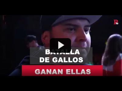Embedded thumbnail for Video: La batalla de gallos la ganan ellas