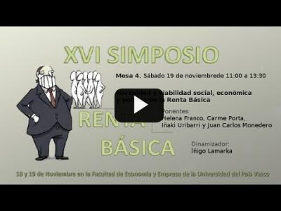 Embedded thumbnail for Video: XVI Simposio de Red Renta Básica - Mesa 4