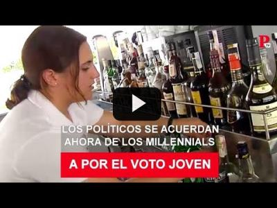 Embedded thumbnail for Video: Objetivo: cazar el voto millennial