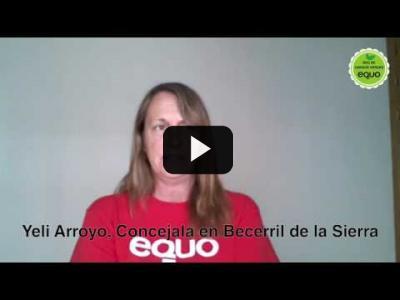 Embedded thumbnail for Video: Yeli Arroyo, concejala en Becerril de la Sierra