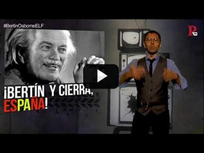Embedded thumbnail for Video: #EnLaFrontera219 - Desmontando a Bertín Osborne