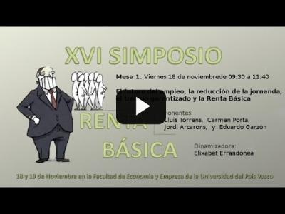Embedded thumbnail for Video: XVI Simposio de Red Renta Básica - Mesa 1