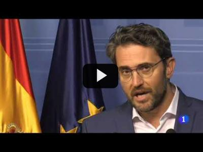 Embedded thumbnail for Video: MAXIM HUERTA dimite como MINISTRO de CULTURA y DEPORTE (13/06/2017)