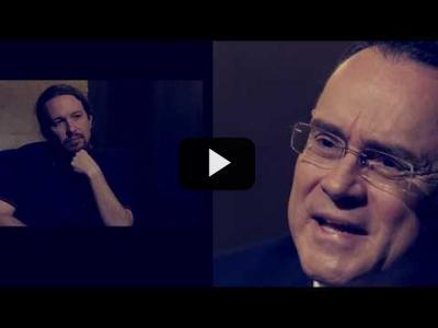 Embedded thumbnail for Video: Otra Vuelta de Tuerka - Pablo Iglesias con Pedro Baños
