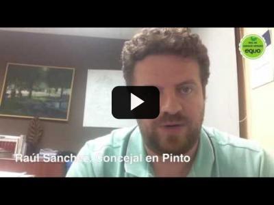 Embedded thumbnail for Video: Raúl Sánchez, concejal en Pinto