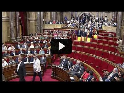 Embedded thumbnail for Video: Un año del choque de trenes entre Cataluña y Madrid