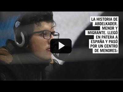 Embedded thumbnail for Video: La historia de Abdelkader | No son MENAS, son menores sin padres #615