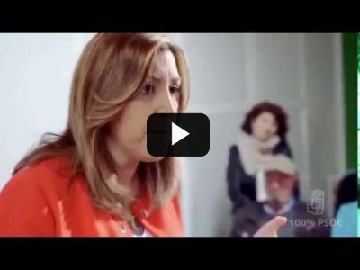 Embedded thumbnail for Video: SUSANA DIAZ (PSOE) - Spot campaña Primarias PSOE