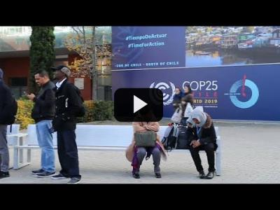 Embedded thumbnail for Video: España espera que la COP25 lance una nueva fase de acción climática