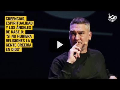 Embedded thumbnail for Video: Kase.O: su espiritualidad, creencias y los ángeles | En Crudo y En Directo #609
