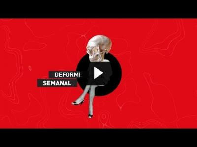 Embedded thumbnail for Video: Deforme Semanal 3x01 - Programa completo -
