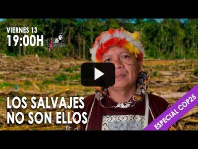 Embedded thumbnail for Video: Los salvajes son ellos - Especial #EnLaFrontera COP25