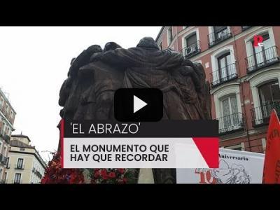 Embedded thumbnail for Video: 'El abrazo' recuerda a los abogados de Atocha
