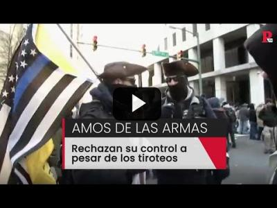Embedded thumbnail for Video: EEUU, amos de las armas: rechazan su control a pesar de los tiroteos
