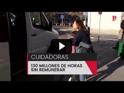 Embedded thumbnail for Video: Cuidadoras: 130 millones de horas sin remunerar