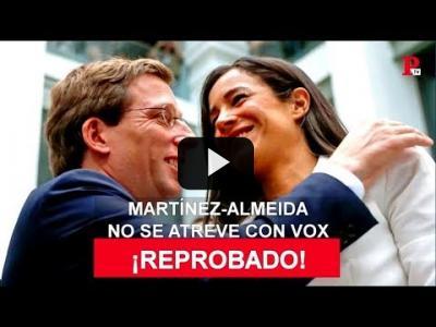 Embedded thumbnail for Video: Martínez-Almeida no se atreve con VOX