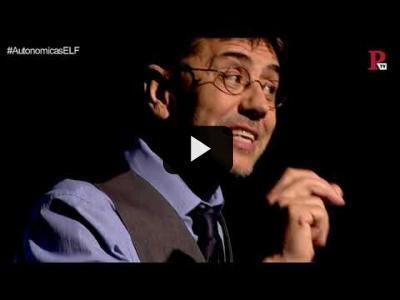 Embedded thumbnail for Video: #EnLaFrontera216 - Monólogo - Políticos buenos no, pero teatreros, cómicos y titiriteros...