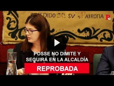 Embedded thumbnail for Video: Noelia Posse reprobada