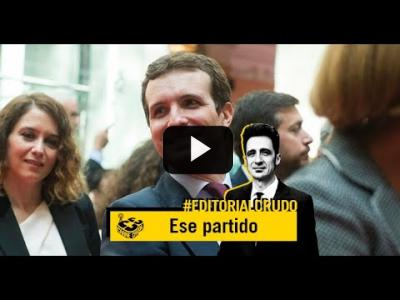 "Embedded thumbnail for Video: ""Ese partido del que usted me habla"" #EditorialCrudo 719"