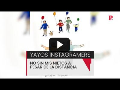 Embedded thumbnail for Video: Abuelos instagramers: 'la distancia no me separa de mis nietos'