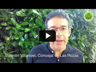 Embedded thumbnail for Video: Valentín Villaroel, concejal en Las Rozas