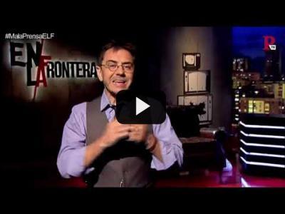 Embedded thumbnail for Video: #EnLaFrontera192 - Monólogo - ¿Qué hacemos con los medios de comunicación?