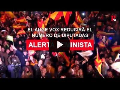 Embedded thumbnail for Video: Vox sube, el feminismo pierde