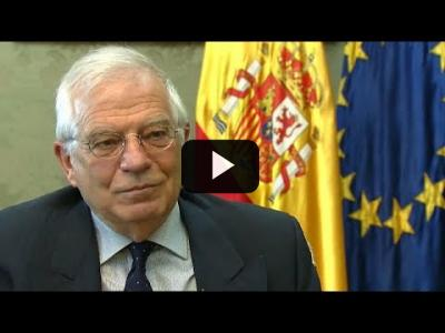 Embedded thumbnail for Video: Borrell: resultaría extraño que los británicos votaran en las europeas