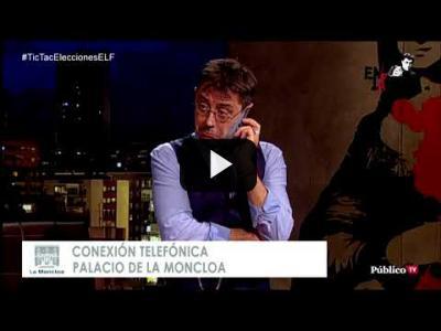 Embedded thumbnail for Video: #EnLaFrontera246 - Llamada #exclusiva a Pedro Sánchez