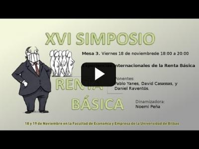 Embedded thumbnail for Video: XVI Simposio de Red Renta Básica - Mesa 3