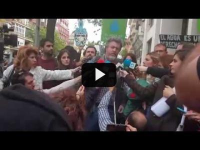 """Embedded thumbnail for Video: """"Hay que revertir la privatización del Canal"""""""