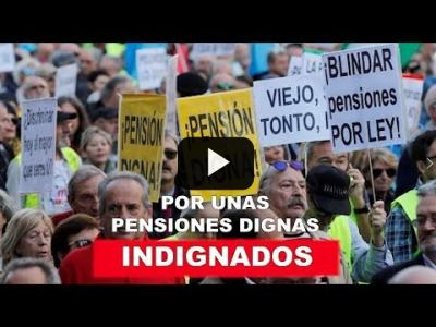 Embedded thumbnail for Video: Los pensionistas toman Madrid