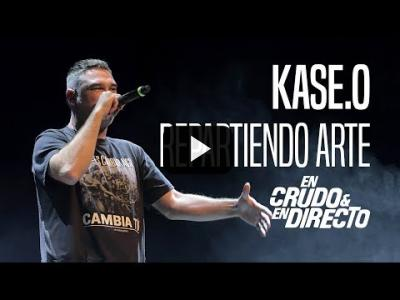 "Embedded thumbnail for Video: Kase.O canta ""Repartiendo arte"" En Crudo y En Directo 