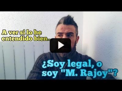 "Embedded thumbnail for Video: A ver si lo he entendido bien: ¿Quién nos pide que respetemos la Ley? ¿""Mariano"", o ""Eme Punto""?"