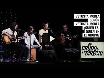 Embedded thumbnail for Video: Vetusta Morla según Vetusta Morla ¿Quién es quién según ellos mismos? | En Crudo y En Directo #560
