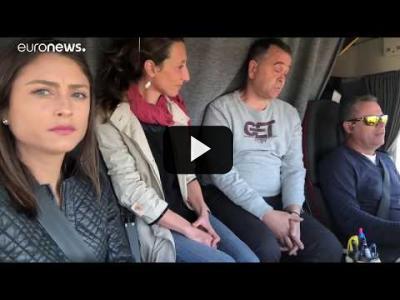 Embedded thumbnail for Video: Road Trip Europa- Día 5: España | Los transportistas sacrifican su salud por tener un mejor salario