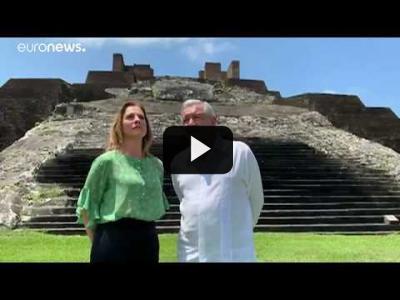 Embedded thumbnail for Video: AMLO exige perdón: Encontronazo diplomático entre México y España por la conquista