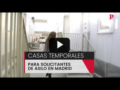 Embedded thumbnail for Video: Casas temporales para solicitantes de asilo en Madrid