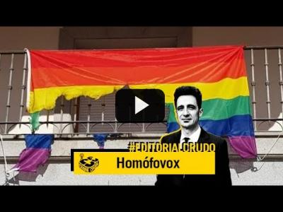 "Embedded thumbnail for Video: ""Homófovox"" #EditorialCrudo 711"