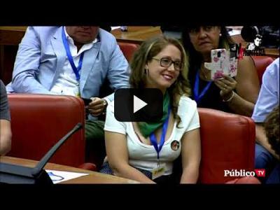 Embedded thumbnail for Video: #EnLaFrontera - ¡Dímelo en la calle! - Juan Carlos Monedero y Alberto Fernández