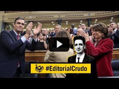 """Embedded thumbnail for Video: """"La justicia está politizada, quién la despolitizará"""" #EditorialCrudo 624"""