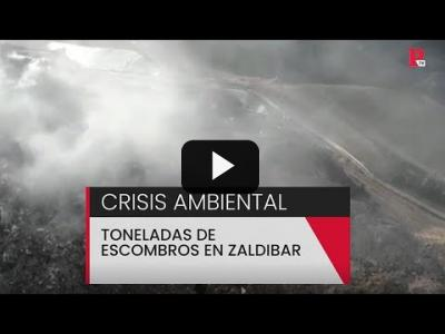 Embedded thumbnail for Video: Crisis ambiental: toneladas de escombros en Zaldibar