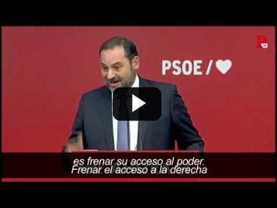 Embedded thumbnail for Video: La autocrítica brilla por su ausencia en el PSOE
