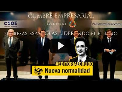 "Embedded thumbnail for Video: ""La nueva normalidad es como la vieja"" #EditorialCrudo 707"