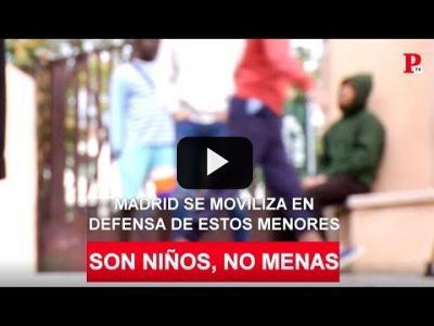 """Embedded thumbnail for Video: """"Si es bueno, es un niño; si es malo, un mena"""": visitamos el centro de Hortaleza"""