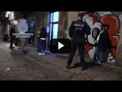 Embedded thumbnail for Video: Golpe policial al tráfico de migrantes en Barcelona