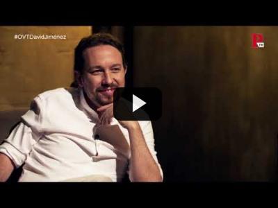 Embedded thumbnail for Video: Otra Vuelta de Tuerka - Pablo Iglesias con David Jiménez