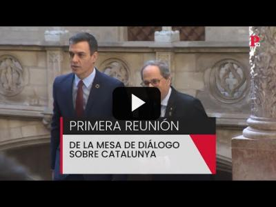 Embedded thumbnail for Video: Catalunya: primera reunión de la mesa de diálogo
