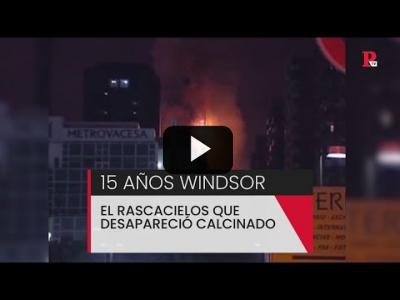 Embedded thumbnail for Video: 15 años del incendio en el edificio Windsor de Madrid