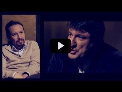 Embedded thumbnail for Video: Otra Vuelta de Tuerka - Pablo Iglesias con Mario Amorós